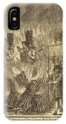 Book Of Martyrs, 1563 IPhone Case