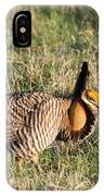 Booming Greater Prairie Chicken 5 IPhone Case