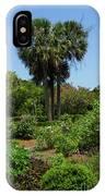 Boone Hall Garden IPhone Case