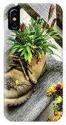 Booted Plant IPhone Case
