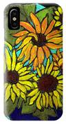 Boquet Of Sunshine IPhone Case