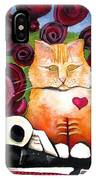 Boris And Me IPhone Case by Delight Worthyn