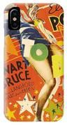 Born To Dance 1936 Retro Movie Poster IPhone Case