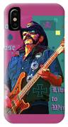 Born To Lose. Live To Win. IPhone Case