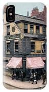 Boston: Bookshop, 1900 IPhone Case