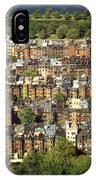 Boston Brownstone Architecture IPhone Case