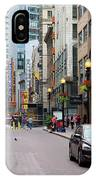 Boston Downtown Crossing IPhone Case