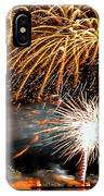 Boston Fireworks On The Charles IPhone Case