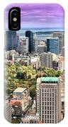 Boston From Above IPhone Case