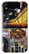 Boston Ma North End Cigar Shop IPhone Case