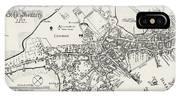 Boston Map, 1722 IPhone Case