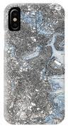 Boston Map, 1903 IPhone Case