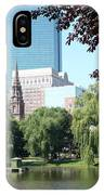 Boston Public Garden IPhone Case