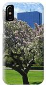 Boston Public Garden Spring Tree Boston Ma IPhone Case