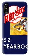 Boston Red Sox 1952 Yearbook IPhone Case