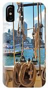 Boston Skyline From The Boston Harbor IPhone Case