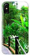 Botanic Gardens Trail IPhone Case