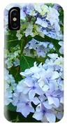 Botanical Art Prints Floral Hydrangea Flower Garden Baslee IPhone Case