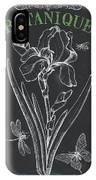 Botanique 1 IPhone Case