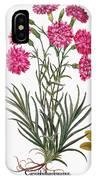 Botany: Flowers, 1613 IPhone Case