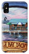 Bottle Bay Yacht Club IPhone Case
