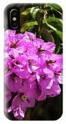 Bougainvillea Bloom IPhone Case