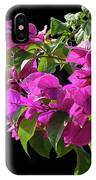 Bougainvillea Cutout IPhone Case