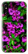 Bougainvillea Floral Print IPhone Case