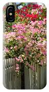 Bougainvillea In Old Eau Gallie Florida IPhone Case