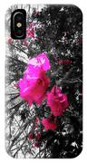 Bougainvillea Invasion IPhone Case