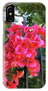 Bougainvillea On Southern Fence IPhone Case