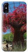 Bougainvilleas Tree Scultures IPhone Case