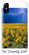 Boulder  County Colorado IPhone Case
