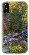 Boulder Creek Autumn View  IPhone Case