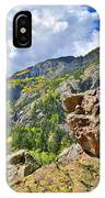 Boulder In Ouray Canyon IPhone Case