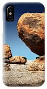 Boulder On Solid Rock IPhone Case