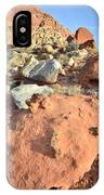 Boulders Above Camprground IPhone Case