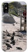 Boulders Beach Penguins IPhone Case