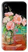 Bouquet De Roses - Marrakech IPhone Case