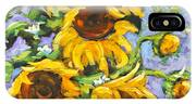 Bouquet Del Sol Sunflowers IPhone Case