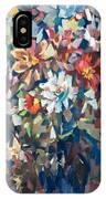 Bouquet Near The Window IPhone Case