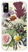 Bouquet Of Flowers, Anonymous, 1680 IPhone Case