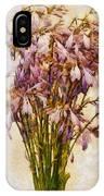 Bouquet Of Hostas IPhone Case