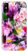 Bouquet Of Purple IPhone Case