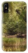 Bourbeuse Reflection IPhone Case