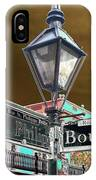 Bourbon And St. Phillip Streets IPhone Case