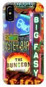 Bourbon Street Neon IPhone Case
