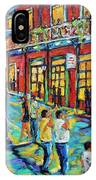 Bourbon Street New Orleans By Prankearts IPhone Case