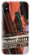 Bourbon Street Sign IPhone Case
