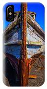 Bow Of Old Worn Boat IPhone Case